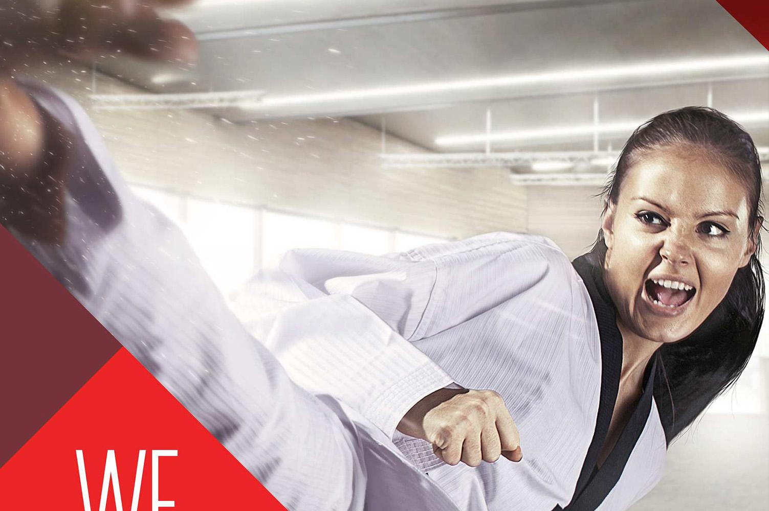 Martial Arts Signage