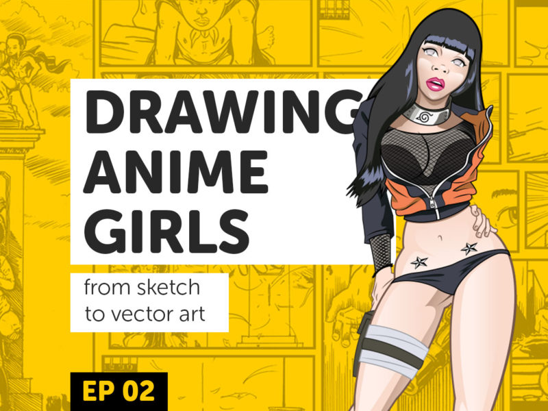 Drawing Anime Girls Ep 2