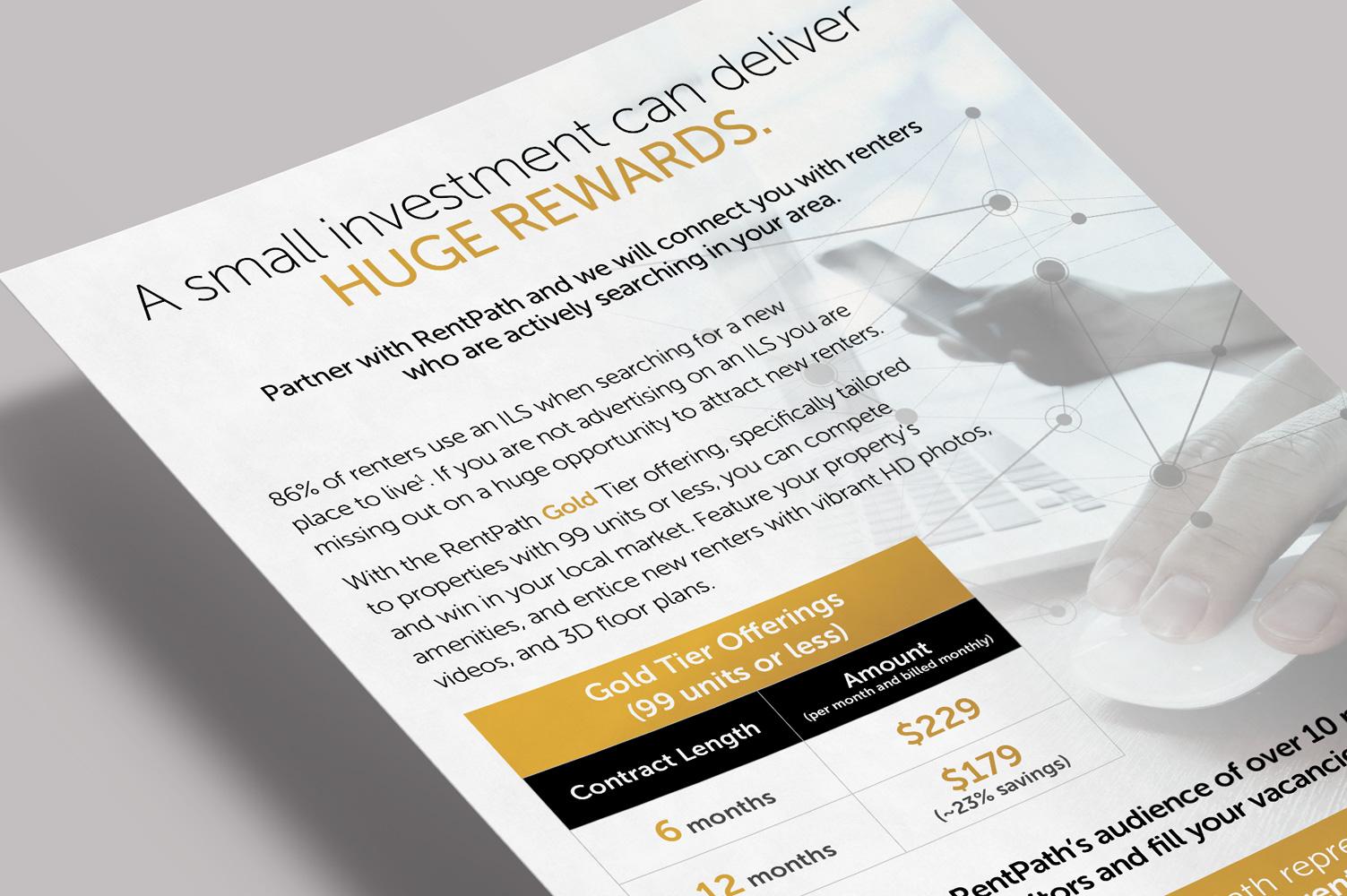 Huge Rewards Flyer